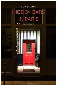 hidden bars in paris