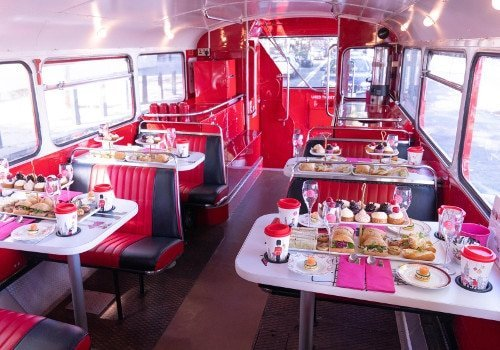 afternoon tea bus tour london