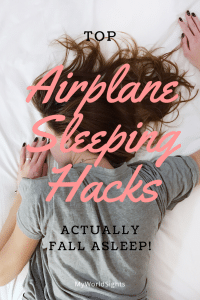 Airplane Sleeping Hacks