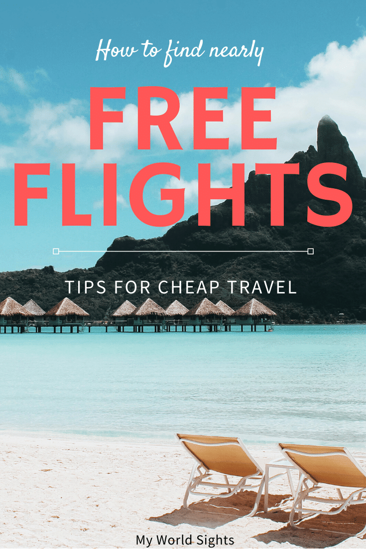 How to find nearly free flights