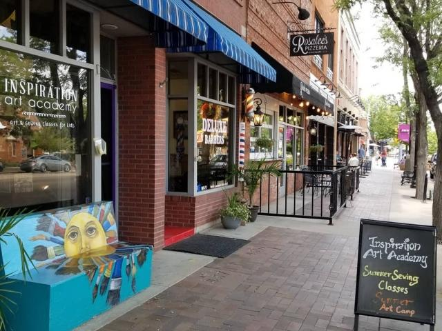 downtown longmont street