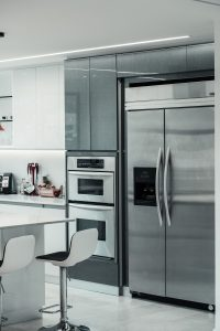Silver Side by Side Refrigerator