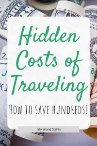 hidden costs of traveling
