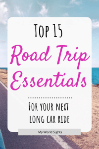 top 15 road trip essentials