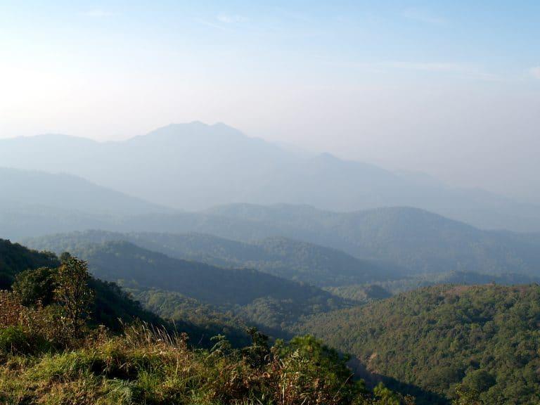 mountain, doi inthanon national park, chiangmai , Thailand