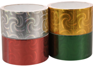 colorful duct tape rolls
