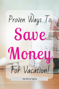 save money for vacation
