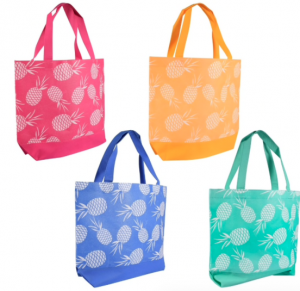 pineapple beach bags