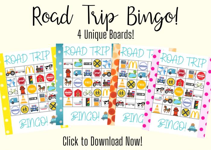 Road trip bingo download now
