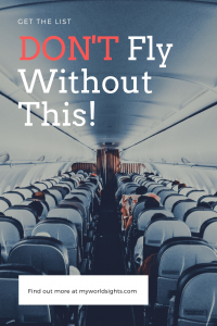 don't fly without this!